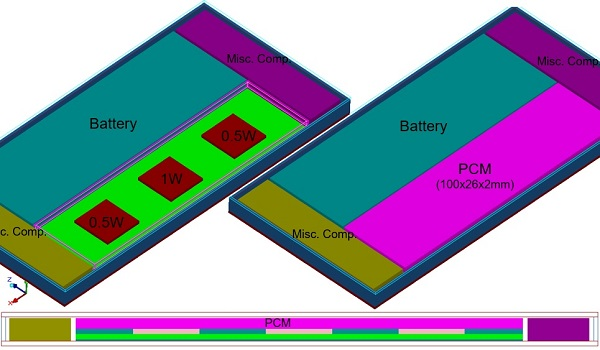 Handheld Device with PCM
